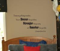 Braver Stronger Smarter Wall Decals
