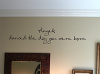 Angels Danced Wall Decals