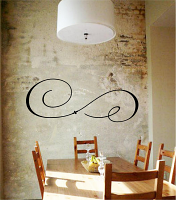 Embellishment Flourish6 Wall Decal