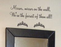 Mirror Mirror On Wall Wall Decals