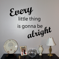 Every Little Thing Wall Decal