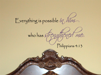 Everything Possible Wall Decal