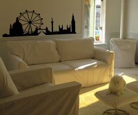 London, England Skyline Wall Decal