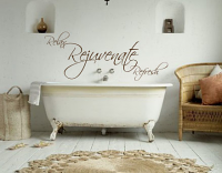 Relax Rejuvenate Refresh Wall Decal