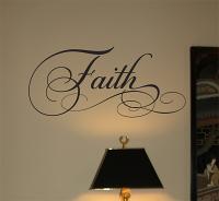 Faith D Wall Decal