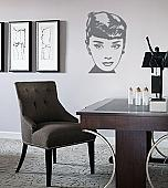 Famous Faces Audrey Hepburn Wall Decals