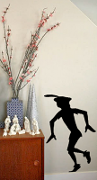 Peter Pan's Sneaky Shadow Wall Decal