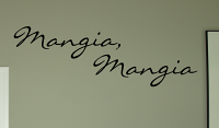 Mangia Mangia Wall Decal