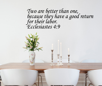 Ecclesiastes Wall Decal