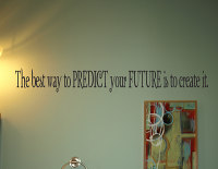 Best Way To Predict Future Wall Decals