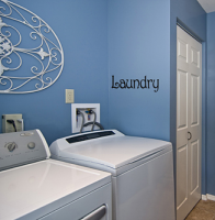 Laundry Wall Decal