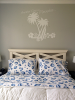 Another Day in Paradise Wall Decal