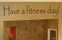 Fitness Day Wall Decal