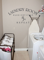 Laundry Room 5 Cents Wall Decal