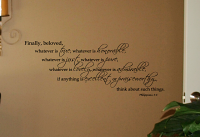 Finally Beloved Wall Decal