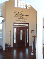 Welcome Moments Together Wall Decal