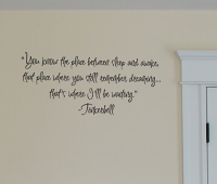 Tinkerbell Wall Decals