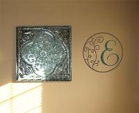 Swirl Monogram Wall Decal