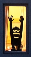 Gorillaz Window Monster Wall or Window Decal