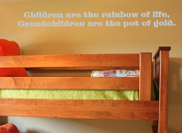 Children Are The Rainbow Of Life Wall Decal