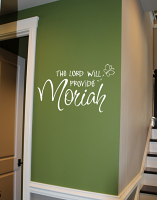 The Lord Will Provide Decal