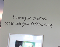 Planning For Tomorrow Wall Decals