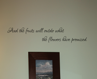 Fruits Will Outdo Wall Decal