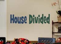 House Divided Wall Decal Item