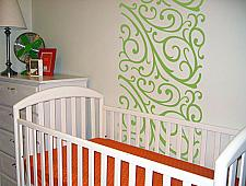 Swirls Wall Runner Decal