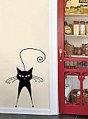 Cattitude 5 Wall Decal