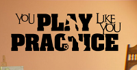 Play Practice Soccer Wall Decal