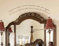 A Great Marriage Wall Decal