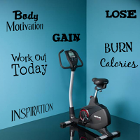 Inpiration & Motivation Word Pack Wall Decal