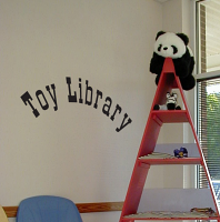 Toy Library Wall Decals