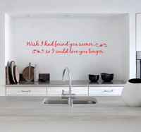 Found You Sooner Wall Decal
