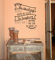 Smiling Sister Wall Decal