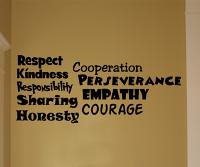 Bold Inspiring Words Wall Decal