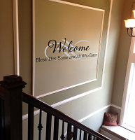All Who Enter Wall Decal