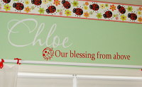 Ladybug Blessing From Above Decal