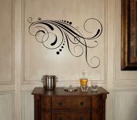 Swirl Dot Embellishment IV Wall Decal