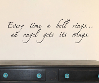 Every time A Bell Rings Wall Decal