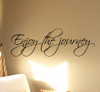 Enjoy The Journey Wall Decal