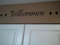 Danish Welcome Wall Decal