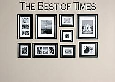 Best Of Times Wall Decal