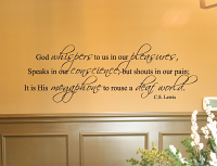 C.S. Lewis Wall Decal