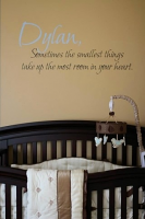 Sometimes The Smallest Things Wall Decal