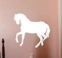 Single Horse Wall Decals