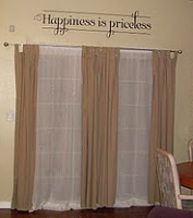 Happiness is Priceless Wall Decal