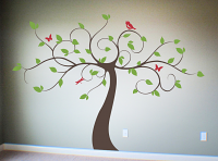 Lovely Limbs Tree Wall Decal