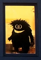 Harry Window Monster Wall or Window Decal